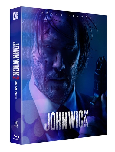John Wick 2 Steelbook Full Slip A 800 Numbered Ne13