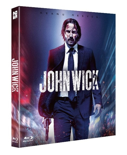 Blu Ray John Wick 2 Full Slip Plain Edition