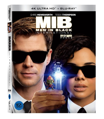 BLU-RAY / Men In Black: International 4K+2DBD+Bouns disc