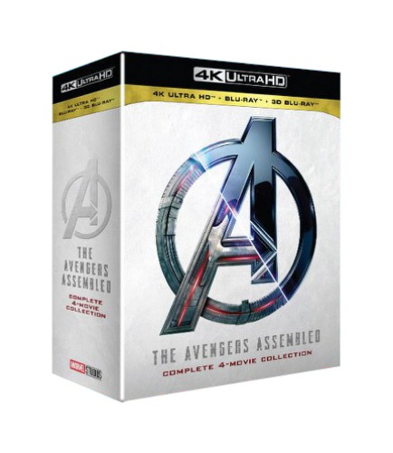 BLU-RAY / Avengers 4-MOVIE 4K+2D+3D COLLECTION
