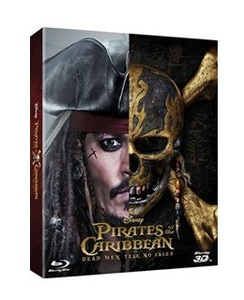 BLU-RAY / PIRATES OF THE CARIBBEAN : DEAD MEN TELL NO TALES STEELBOOK LE (2D+3D)