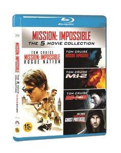 BLU-RAY / MISSION IMPOSSIBLE ULTIMATE COLLECTION (5 DISC)