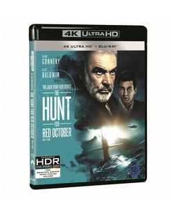 BLU-RAY / THE HUNT FOR RED OCTOBER 4K (BD + 4K UHD)