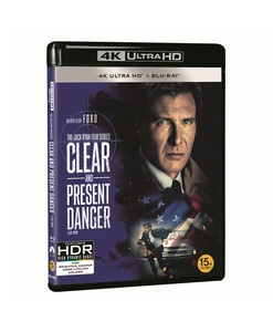 BLU-RAY / CLEAR AND PRESENT DANGER 4K LE (BD + 4K UHD)