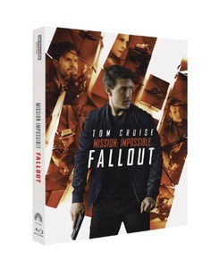 BLU-RAY / MISSION IMPOSSIBLE : FALL OUT 4K STEELBOOK LE (BD+4K UHD+BONUS DISC)