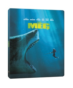 BLU-RAY / THE MEG STEELBOOK LE (2D+3D)