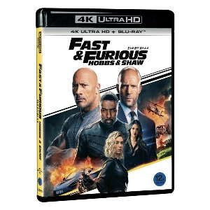BLU-RAY / Fast & Furious Presents: Hobbs & Shaw 4K UHD+BD (2 DISC)