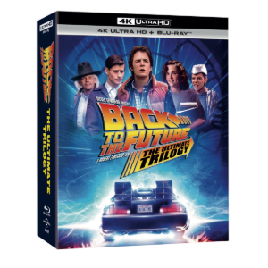 BLU-RAY / Back to the future Triology Remaster (BD+4K UHD) (7 Disc)
